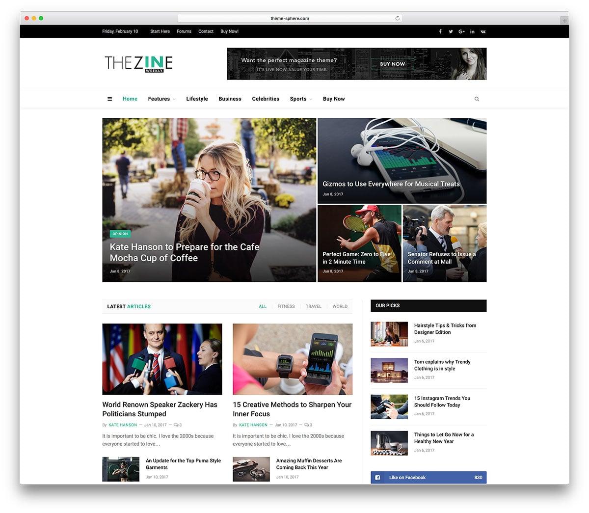 giao-dien-website-tin-tuc-The-Zine